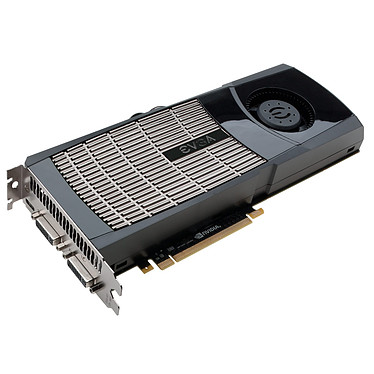 EVGA GeForce GTX 480 SuperClocked EVGA GeForce GTX 480 SuperClocked - 1536 Mo Dual DVI/Mini HDMI - PCI-Express (NVIDIA GeForce avec CUDA GTX 480)