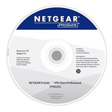 Netgear VPNG05L Netgear VPNG05L - Client VPN Logiciel : Licence 5 utilisateurs