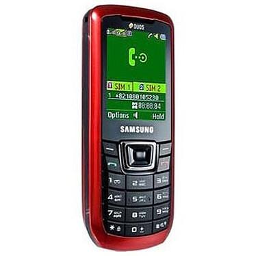 Samsung C3212 Rouge Samsung C3212 Rouge - Téléphone 2G avec 2 ports pour cartes SIM
