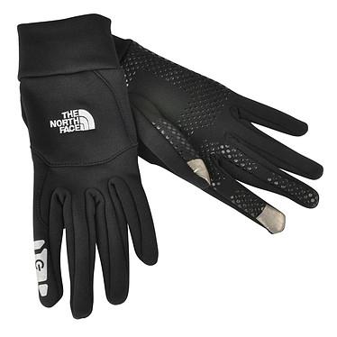 The North Face E-Tip M Noir Paire de gants taille M compatible écran multi-touch (iPhone/iPod/iPad)