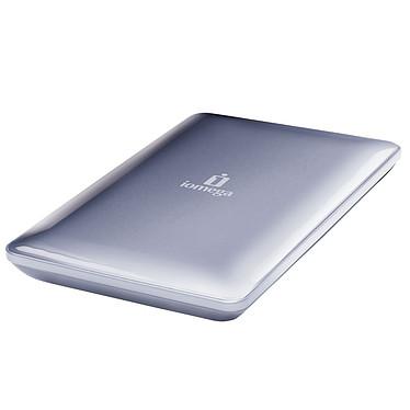 """Iomega eGO Portable Hard Drive Mac Edition 500 Go Argent (USB 2.0/FireWire400/800) Disque dur externe 2.5"""" sur port USB 2.0/FireWire 400/FireWire 800 (garantie constructeur 3 ans)"""