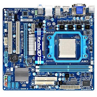 Gigabyte GA-880GM-D2H Carte mère Micro ATX Socket AM3 AMD 880G