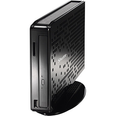 Shuttle XS3510MA Shuttle XS3510MA - Intel Atom D510 2 Go 500 Go NVIDIA ION Graveur DVD Wi-Fi N Windows 7 Premium (sans écran)