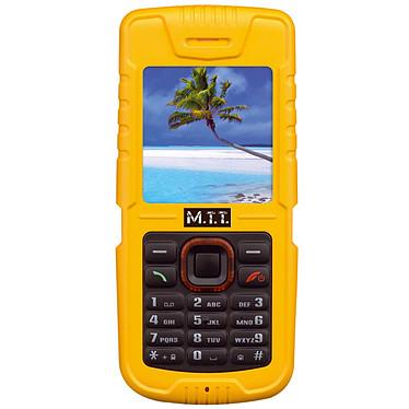 M.T.T Bazic Jaune M.T.T Bazic Jaune - Téléphone baroudeur certifié IP67
