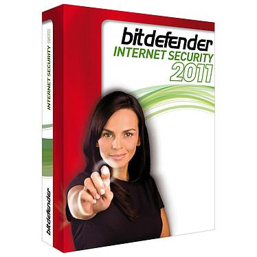 BitDefender Internet Security 2011 - Licence 1 an 3 postes  BitDefender Internet Security 2011 - Licence 1 an 3 postes - Vendu uniquement avec un produit informatique (français, WINDOWS)