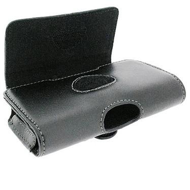 HTC PO C300 HTC PO C300 - Etui en cuir noir avec clip ceinture pour Snap et Magic