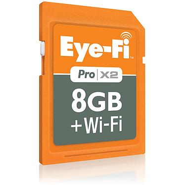 Eye-Fi Pro X2 8 GB + Wi-Fi Eye-Fi Pro X2 SDHC 8 Go (Wi-Fi intégré)