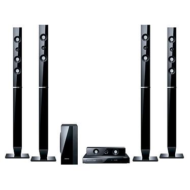 Samsung HT-C5550 Samsung HT-C5550 - Ensemble Home Cinéma 5.1 Blu-ray avec sortie HDMI 1.4 1080p et Station d'accueil iPod