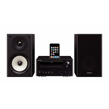 Onkyo CS-V645 Noir Onkyo CS-V645 Noir - Micro chaine DVD pour iPod