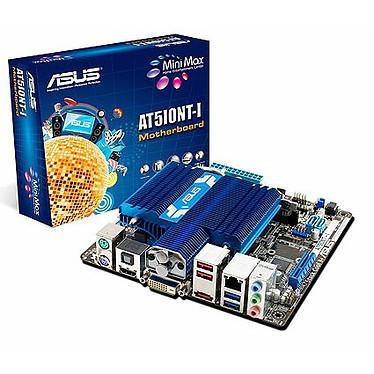 ASUS AT5IONT-I Carte mère Mini ITX avec processeur Atom D525 (Intel NM10 Express) - (garantie 3 ans)