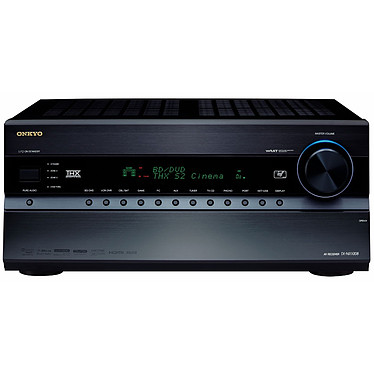 Onkyo TX-NR1008 Noir Onkyo TX-NR1008 Noir - Ampli-tuner Home Cinema 3D Ready 9.2 THX Select2 Plus DLNA avec HDMI 1.4 et décodeurs HD