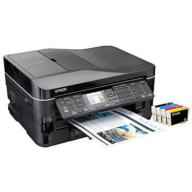Epson Stylus SX620FW Imprimante Multifonction jet d'encre couleur 4-en-1 (USB 2.0 / Ethernet / Wi-Fi b/g/n)