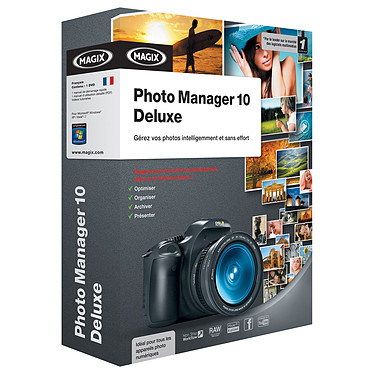 MAGIX Photo Manager 10 deluxe MAGIX Photo Manager 10 deluxe (français, WINDOWS)
