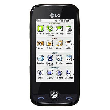 """LG GS290 Cookie 2 Noir LG GS290 Cookie 2 Noir - Smartphone 2G avec écran tactile 3"""""""