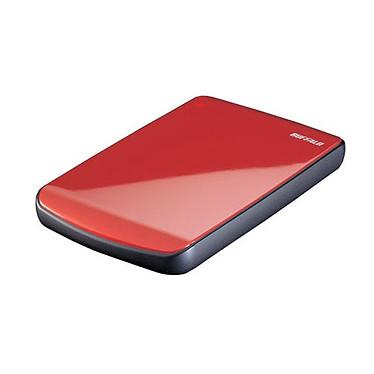 Buffalo MiniStation Lite 500 GB Buffalo MiniStation Lite 500 Go - Disque dur externe - Rouge (USB 2.0)