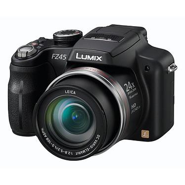 Panasonic Lumix DMC-FZ45 Noir Panasonic Lumix DMC-FZ45 Noir - Appareil photo 14 MP - Zoom 24x - Vidéo HD