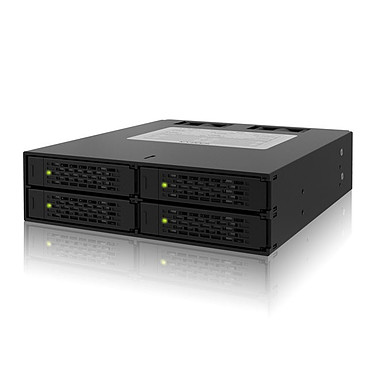 """ICY DOCK MB994SP-4S ICY DOCK MB994SP-4S - Rack pour 4 disques durs 2""""1/2 Serial ATA/SAS dans baie 5.25"""""""