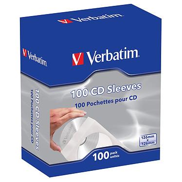 Verbatim pack de 100 pochettes CD/DVD