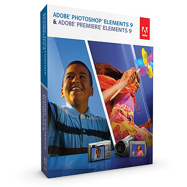 Adobe Photoshop Elements 9 & Adobe Premiere Elements 9 Mise à jour Adobe Photoshop Elements 9 & Adobe Premiere Elements 9 - Mise à jour (français, WINDOWS/MAC)