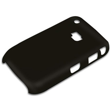 xqisit Faceberry Mat Black xqisit Faceberry Mat Black - Coque pour BlackBerry 8520 / 9300