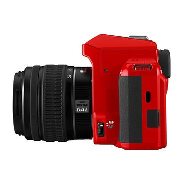 Pentax K-r Rouge + Objectif DA L 18-55mm + Sacoche pas cher