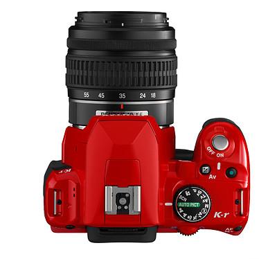 Avis Pentax K-r Rouge + Objectif DA L 18-55mm + Sacoche