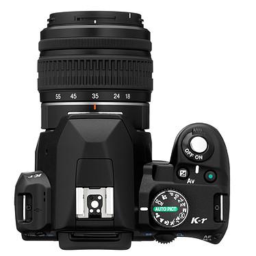 Pentax K-r + Objectif DA L 18-55mm + DA L 50-200mm Noir pas cher