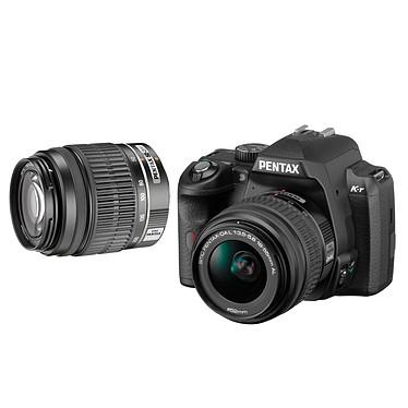 Acheter Pentax K-r + Objectif DA L 18-55mm + DA L 50-200mm Noir
