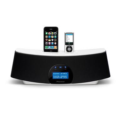 Pioneer XW-NAC3-K Noir Pioneer XW-NAC3-K Noir - Double Station d'accueil pour iPod/iPhone avec USB, Bluetooth et Radio Internet