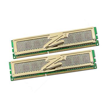OCZ Gold Edition 8 Go (2x 4Go) DDR3 1333 MHz OCZ Gold Edition 8 Go (kit 2x 4 Go) DDR3-SDRAM PC3-10666 - OCZ3G1333ULV8GK (garantie 10 ans par OCZ)