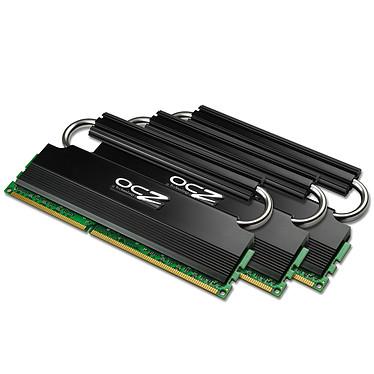 OCZ Reaper HPC 12 Go (3x 4Go) DDR3 1600 MHz OCZ Reaper HPC Triple Channel 12 Go (kit 3x 4 Go) DDR3-SDRAM PC3-12800 - OCZ3RPR1600LV12GK (garantie 10 ans par OCZ)