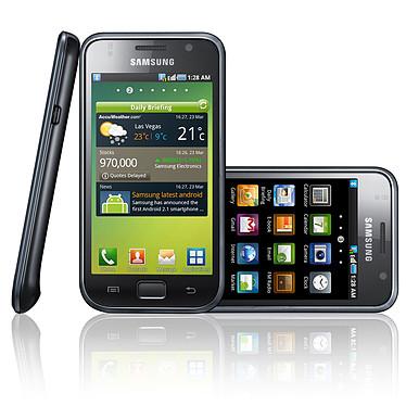 Samsung i9000 Galaxy S + Coque Muvit Blanche pas cher
