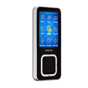 "Samsung YP-Q3CB Samsung YP-Q3CB Noir - Lecteur MP3 8 Go Ecran 2,2"" FM"