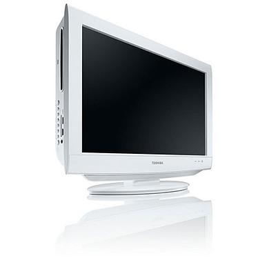 Toshiba 22DV734G Toshiba 22DV734G - Téléviseur LCD 56 cm 16/9 - 1366 x 768 pixels - Tuner TNT HD - Lecteur DVD intégré