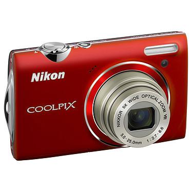 Nikon COOLPIX S5100 Rouge Nikon COOLPIX S5100 Rouge - Appareil photo 12.2 MP - Zoom 5x - Vidéo HD