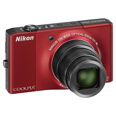 Nikon Coolpix S8000 Rouge Nikon Coolpix S8000 Rouge - Appareil photo 14.2 MP - Zoom 10x - Vidéo HD