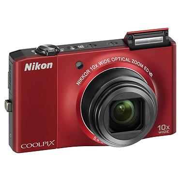Avis Nikon Coolpix S8000 Rouge