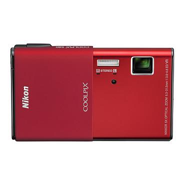 Nikon COOLPIX S80 Rouge Appareil photo 14.1 MP - Zoom 5x - Vidéo HD - Ecran tactile AMOLED