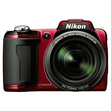 Nikon Coolpix L110 Rouge + Etui Nikon CS-P03 + Carte SD 4 Go pas cher