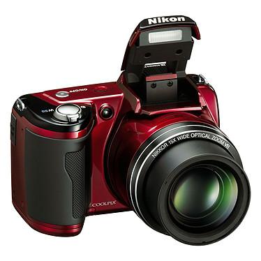 Acheter Nikon Coolpix L110 Rouge + Etui Nikon CS-P03 + Carte SD 4 Go