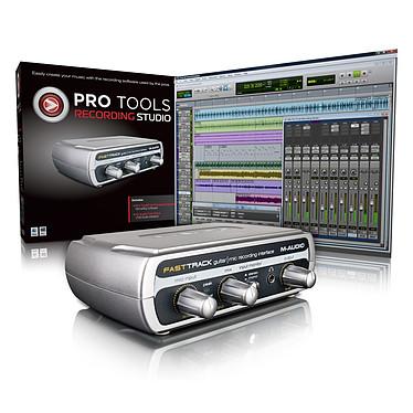 M-Audio Pro Tools Recording Studio M-Audio Pro Tools Recording Studio - Logiciel Pro Tools M Powered Essential + interface M-Audio Fast Track USB