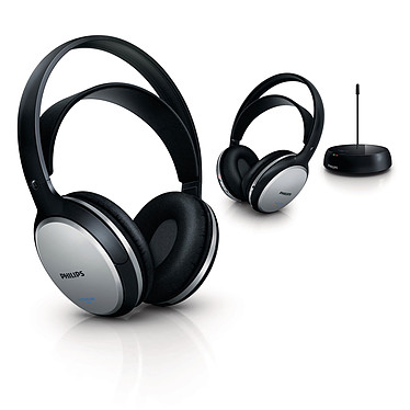 Philips SHC5102 Pack 2 casques Hi-Fi sans fil