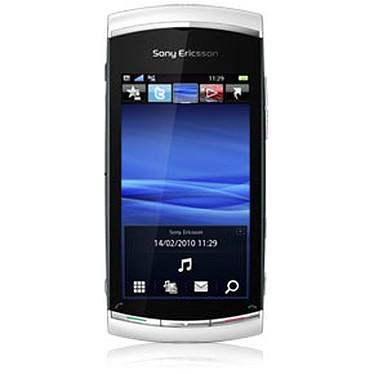 """Sony Ericsson Vivaz Pro Blanc Sony Ericsson Vivaz Pro Blanc - Smartphone 3G+ avec écran tactile 3.2"""" et clavier complet coulissant"""