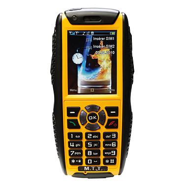 M.T.T. Extrêm Jaune Téléphone 2G baroudeur certifié IP67