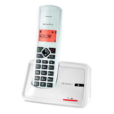 Alcatel Versatis D150 Titane Alcatel Versatis D150 Titane - Téléphone DECT sans fil (version française)