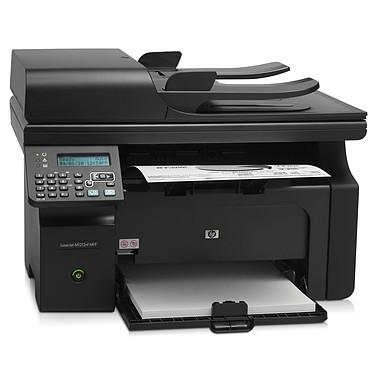 HP LaserJet Pro M1212nf HP LaserJet Pro M1212nf - Imprimante Multifonction laser monochrome 4-en-1 (USB 2.0 / Ethernet)