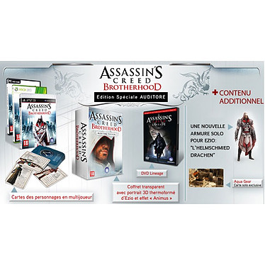Assassin's Creed Brotherhood Auditore Edition (Xbox 360)