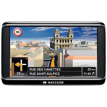 "Navigon 70 Premium Europe Navigon 70 Premium Europe - GPS 43 pays d'Europe Ecran 5"" avec TMC"
