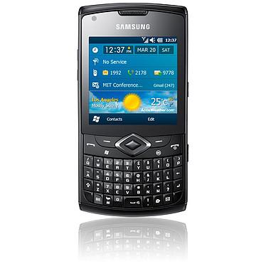 """Samsung Omnia 735 Samsung Omnia 735 - Smartphone 3G+ avec écran tactile 2.6"""" et clavier complet sous Windows Mobile"""