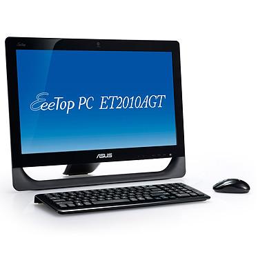 "ASUS EeeTop PC ET2010AGT-B070E ASUS EeeTop PC ET2010AGT - AMD Athlon II X2 250u 4 Go 500 Go ATI Radeon HD5470 LCD 20"" Tactile Graveur DVD Wi-Fi N Webcam Windows 7 Premium 64 bits"